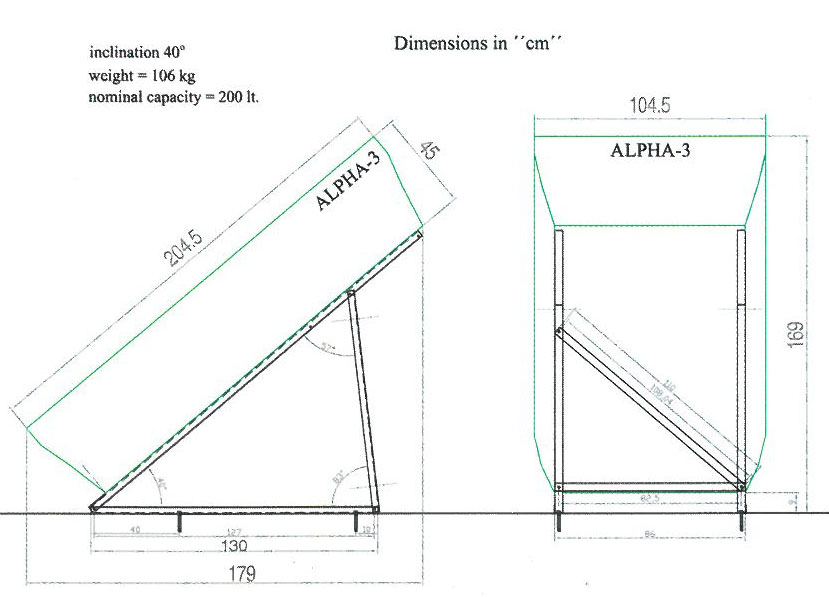 Alpha Compact Solar Water Heater Solar Energy Systems